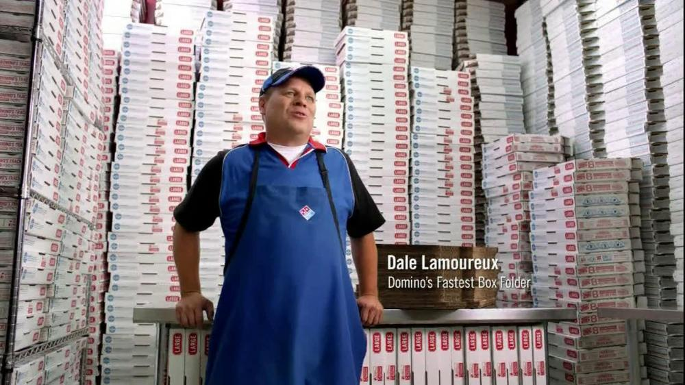 Dominos Commerical