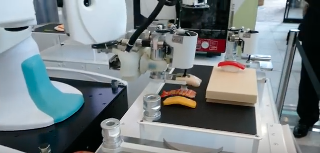 Kawasaki Releases Robots That Make Perfect Sushi In Seconds