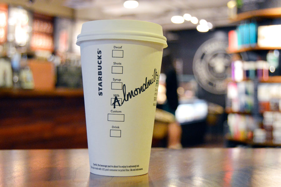 All Your Favorite Starbucks Drinks Can Now Be Made With Almond Milk