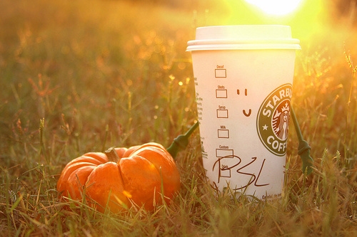 Starbucks PSL