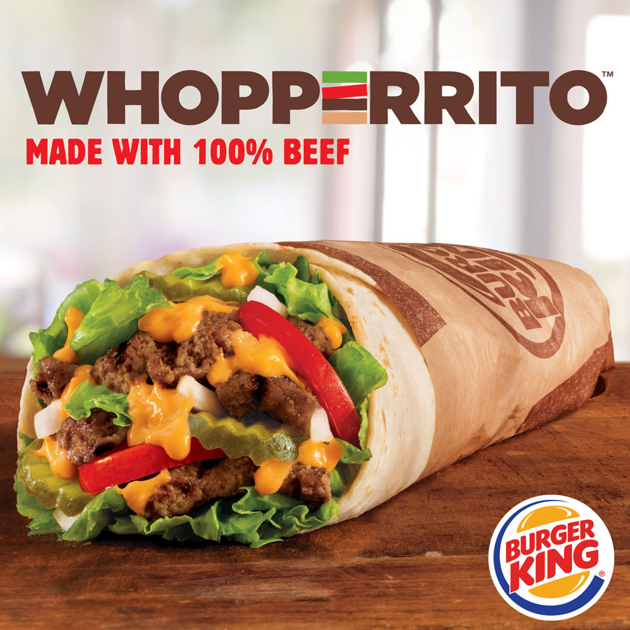 Burger King's Burger-Burrito Monstrosity, the Whopperrito, Is Launching Nationwide