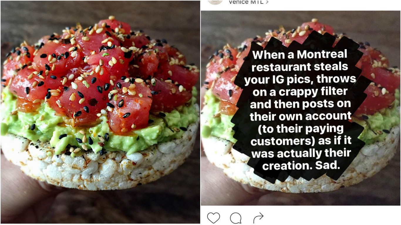 Whole Foods Savagely Owned This Photo-Stealing, No Credit-Giving Restaurant