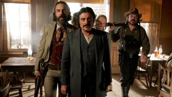 [Ian McShane as Al Swearengen on Deadwood]