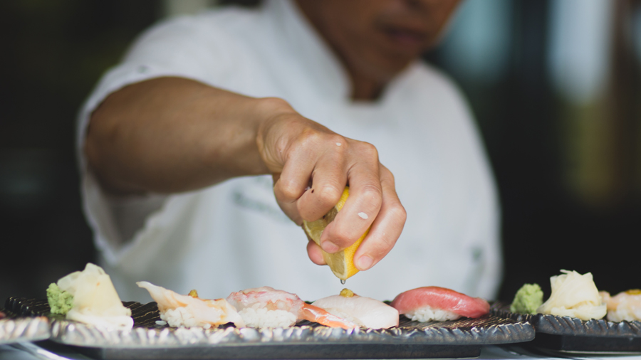 This Chef Is Quietly Changing The LA Sushi Scene With His Unusual Techniques
