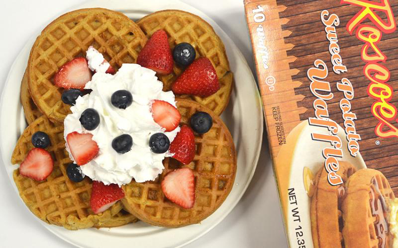 Eat Roscoe's At Home With Their New FROZEN WAFFLES