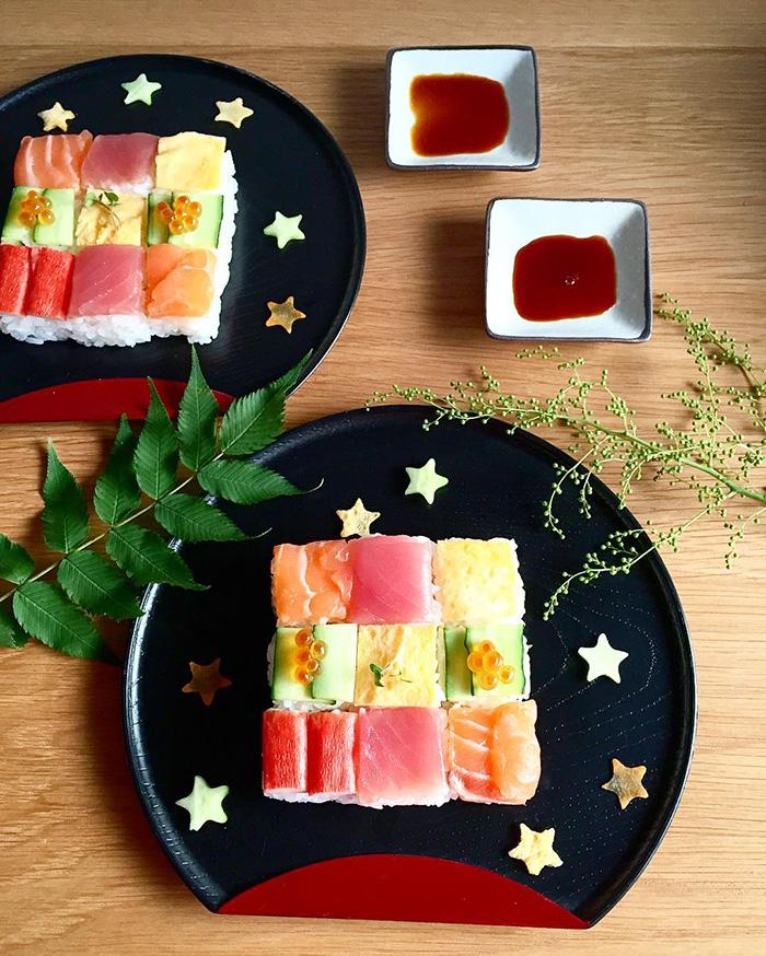 Small Mosaic Sushi