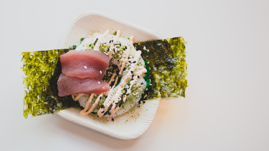 Sushi Donuts Might Be The Most Beautiful New Food Trend