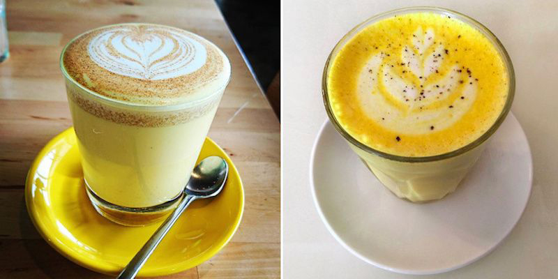 Turmeric Lattes Are Replacing PSLs, But Without All The Extra Calories