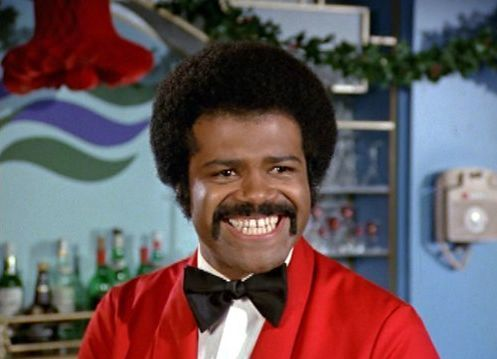 [Ted Lange as Isaac Washington on The Love Boat]