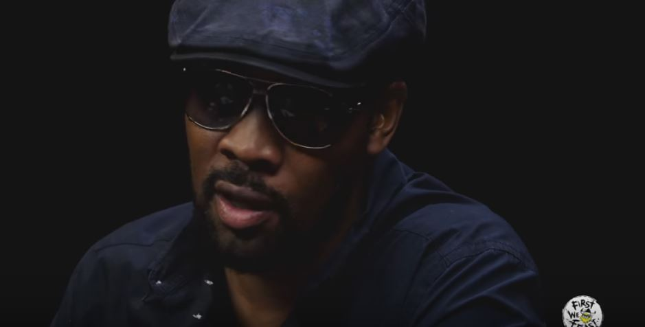 Watch RZA Try To Devour These Ridiculously Spicy Vegan Hot Wings