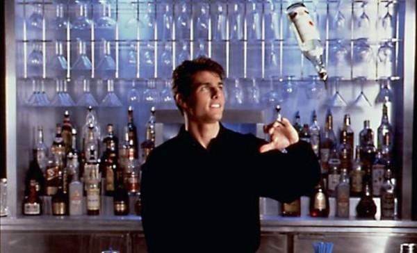 [Tom Cruise as Brian Flanagan in Cocktail]