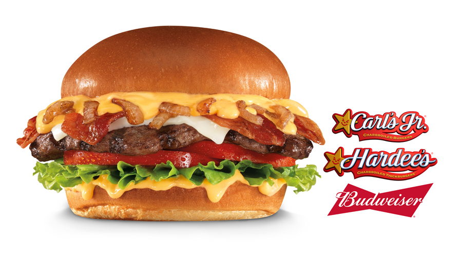 Carl's Jr. Launches New Budweiser Beer Cheese Burger And Bacon Fries