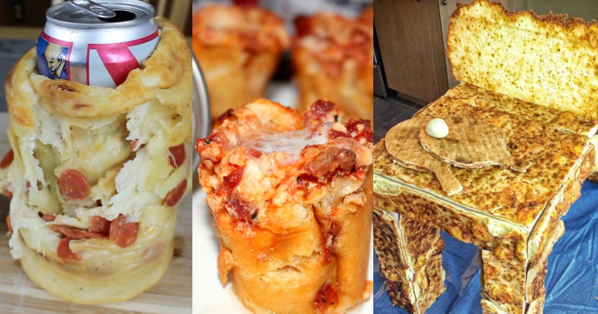 Three Ridiculous Creations People Came Up With During National Pizza Month