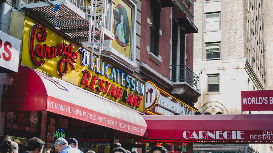 Here's Why Carnegie Deli Threw Out All Their Celebrity Photos After They Closed Down
