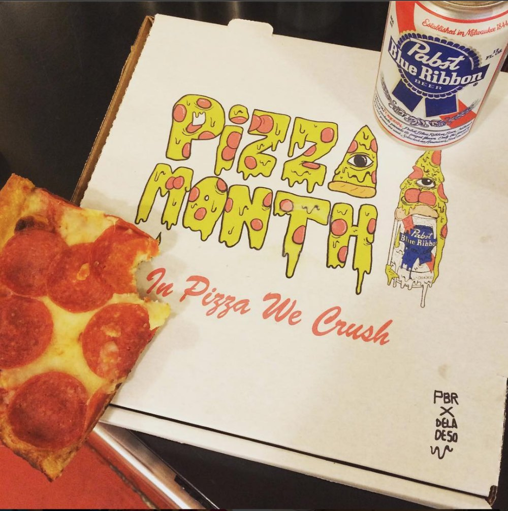Pbr Silently Gave Away Pizza All Month On Reddit