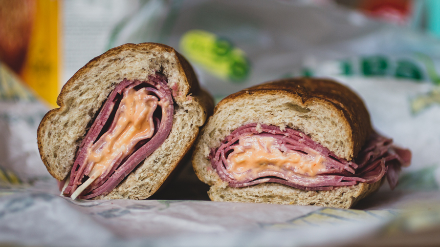 Heres What Subways New Reuben Sandwich Looks Like And It Wasnt Bad