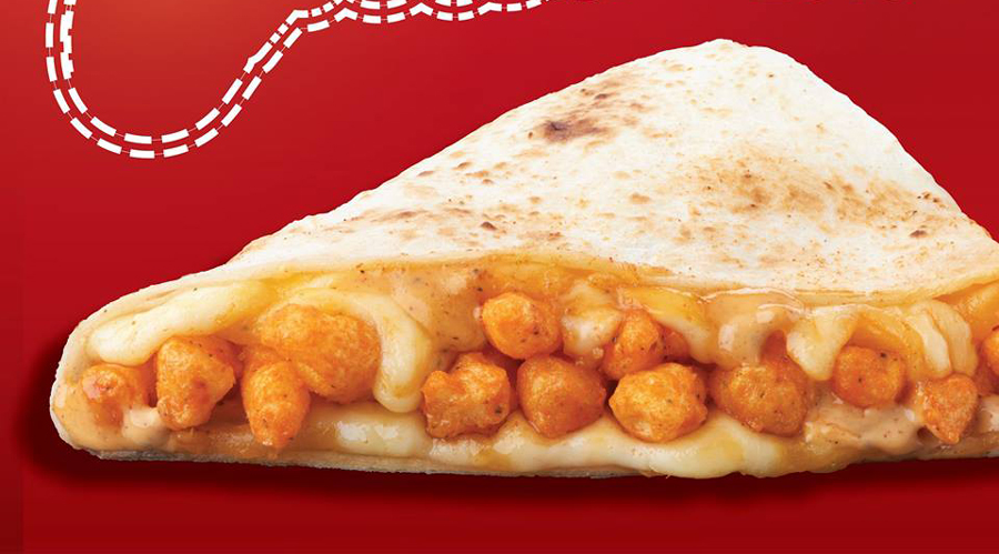 Taco Bell Launches A CHEETOS QUESADILLA In The Philippines