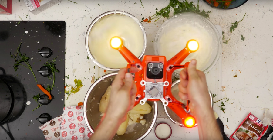 How To Make Thanksgiving Dinner With A Drone [HUMOR]