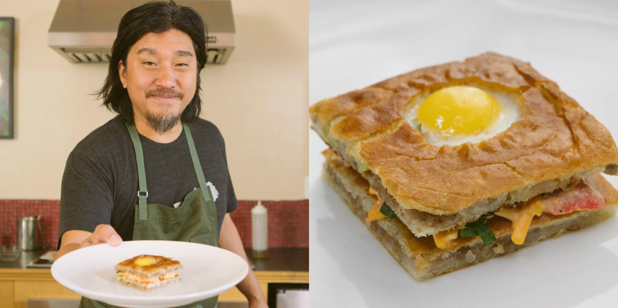 [WATCH] 'Top Chef' Edward Lee Reimagines A White Castle Slider As A Pimento Quail Egg Toad In The Hole