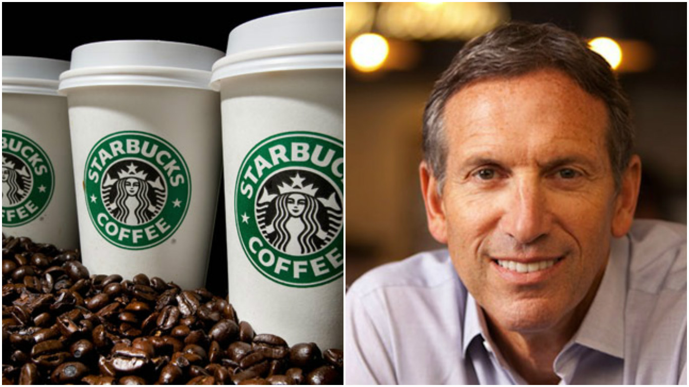 Here's Why Starbucks CEO Howard Schultz Just Stepped Down