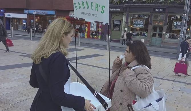 Watch PETA Trick Pedestrians Into Drinking 'Dog Milk'