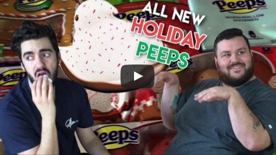 Peeps' New Holiday Flavors Taste Like Cinnamon Toast Crunch & Fudge [UNBOXING]