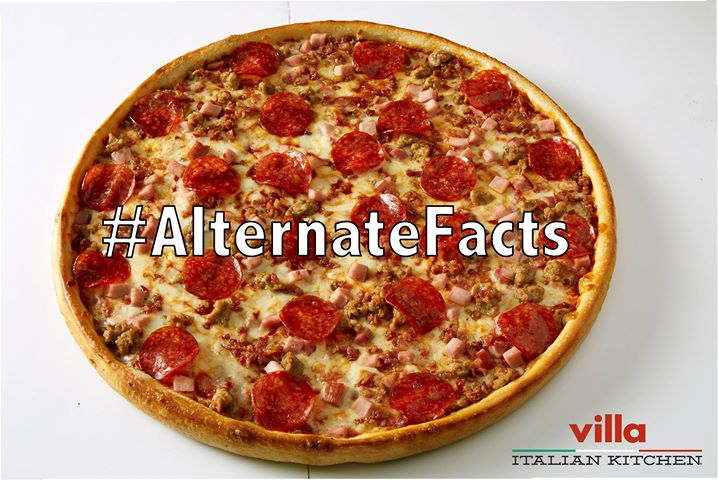 This Meat Lovers 'Alternate Facts' Pizza Claims To Have Zero Calories