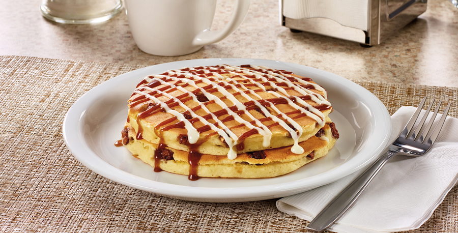 dennys-stick-bun-pancakes