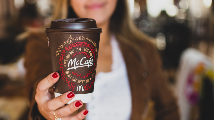 McDonald's Is Turning Their Coffee Waste Into Car Parts For Ford -