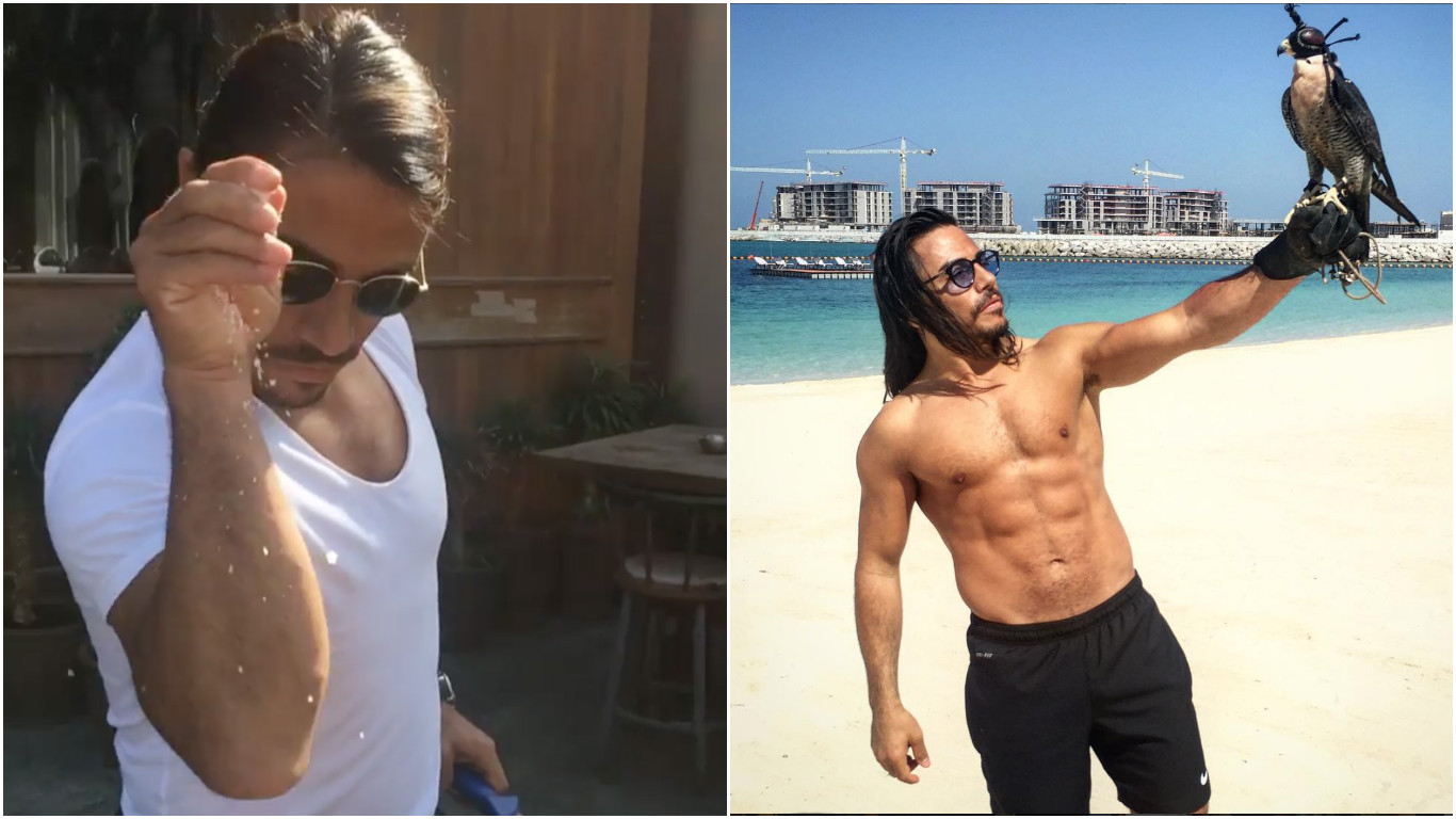 Saltbae Just Became The Internet's Sexiest Butcher Overnight