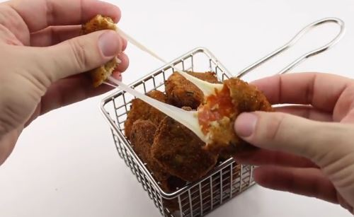 How To Make Deep Fried Pepperoni & Cheese Bites For The Perfect Game Day Snack