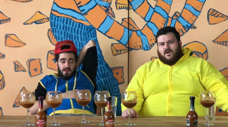 These Guys Drank Glasses Of 'Sh*t The Bed' Hot Sauce, Didn't End Well [WATCH]