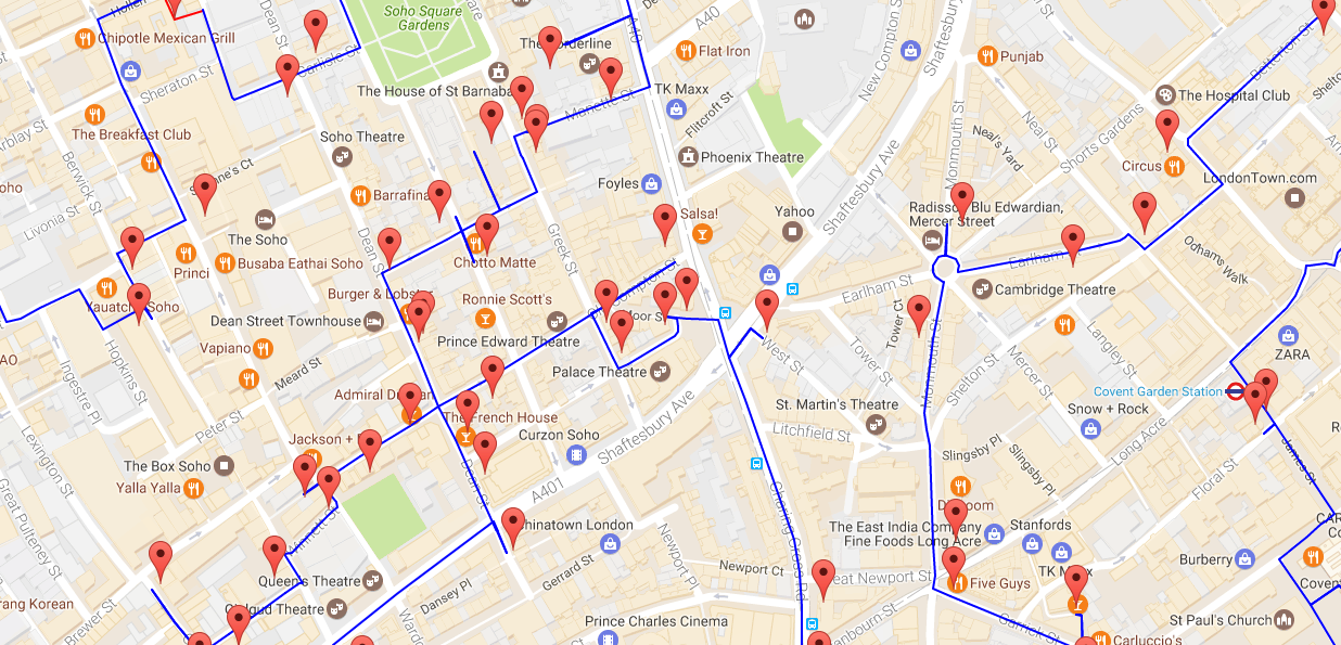 Map Of Uk Pubs.Start An Epic Pub Crawl With This Map Of Every Pub In The Uk