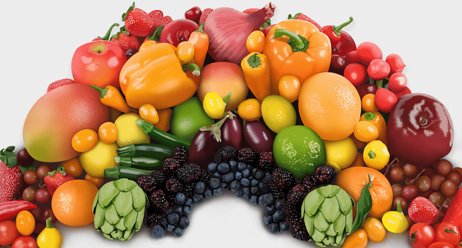 Eat The Rainbow Diet Blue Foods