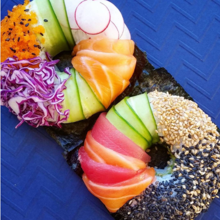 Sushi Donuts Are the 'Hole-y' Grail of Food Mash-Ups