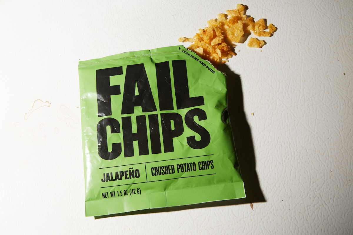 """'FailChips' Want You To Enjoy The """"Best"""" Part Of Potato Chips: The Crumbs"""