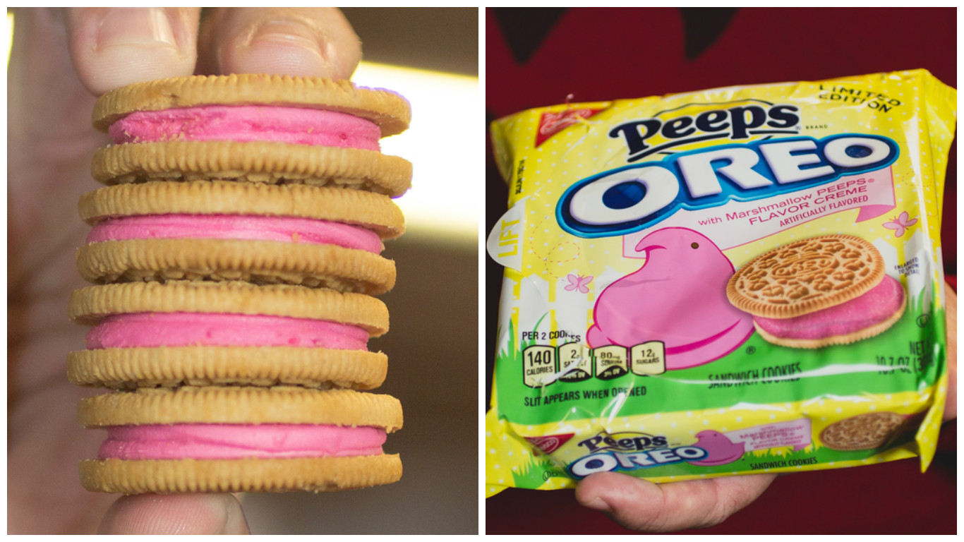 PEEPS OREOS Are Now Available In Walmart Stores