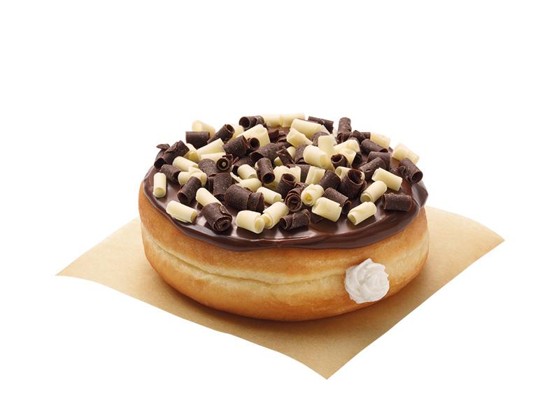 Vanilla Truffle Donut Silo