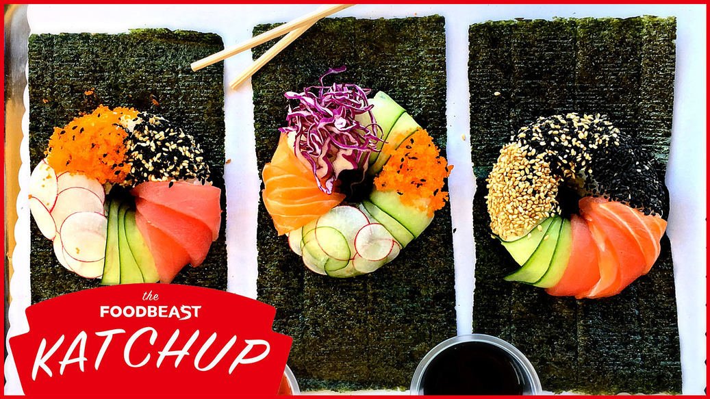 Are Viral Foods Like The Sushi Donut Killing The Restaurant Industry? [The Katchup Podcast]
