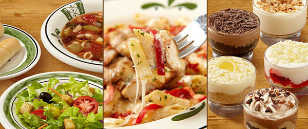 Olive Garden Reveals A 3 Course Italian Dinner For