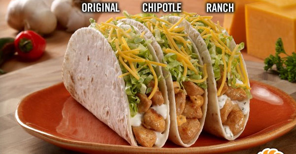 Del Taco Launches Two New Grilled Chicken Tacos
