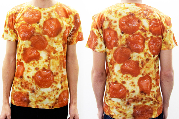 Pizza Shirt Line Is The Cheesiest Garment Collection Around