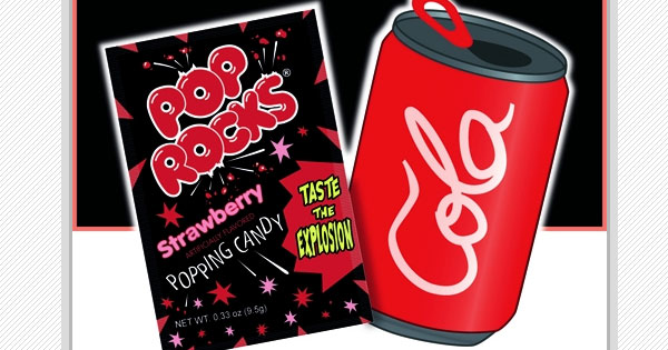 pop rocks candy hopes to dispel the myth that tandem soda