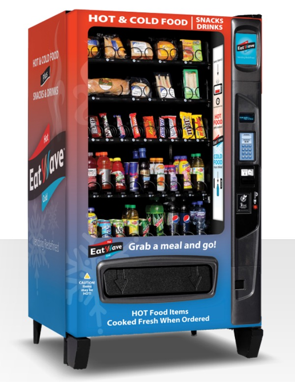 Finally, A Vending Machine That Serves Hot, Steamy Food