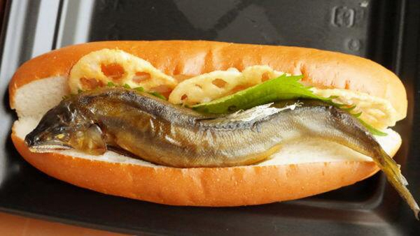 This Whole Fish Hot Dog Looks Creepy Will Probably Make