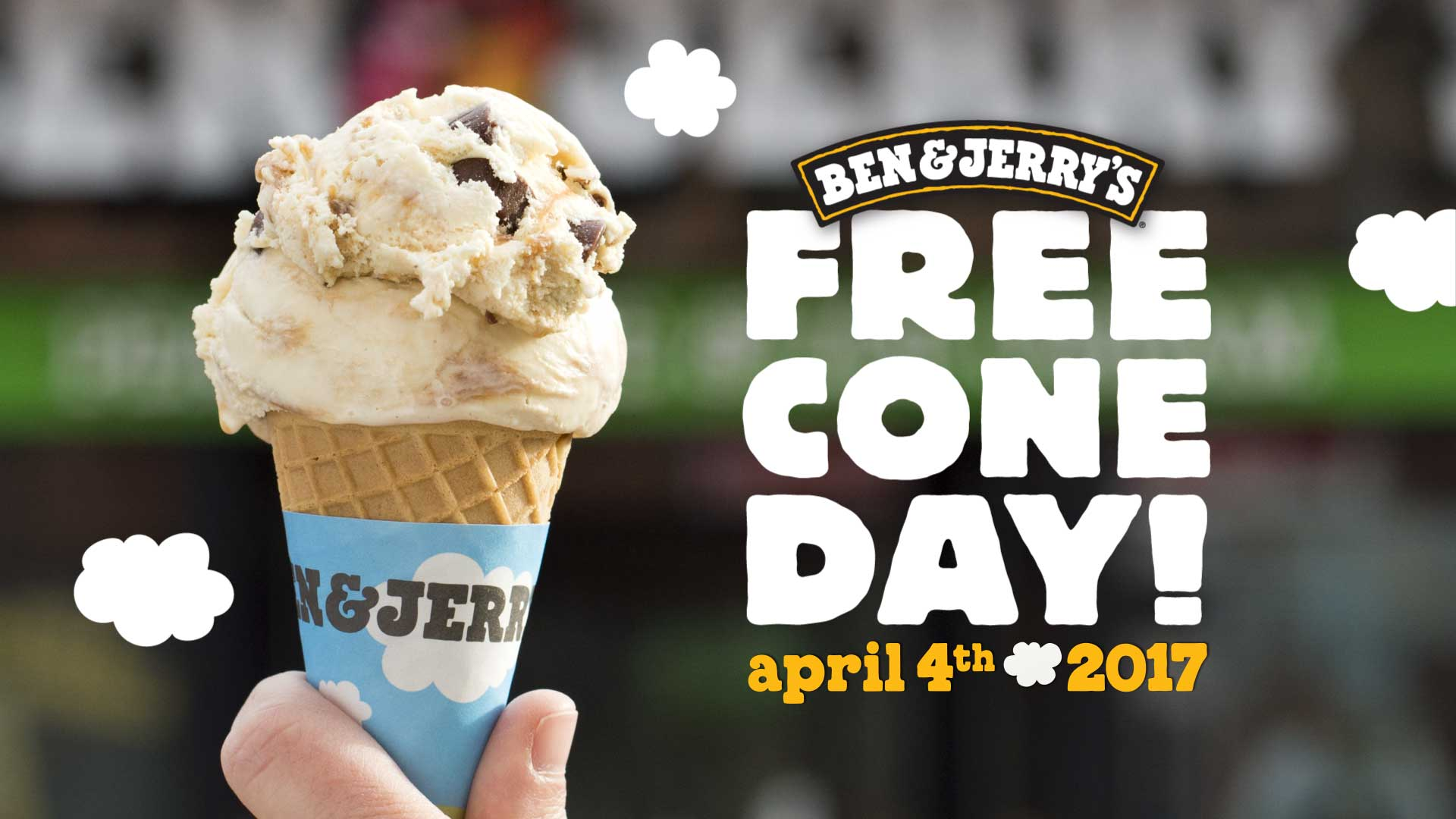 free cone day at ben and jerrys