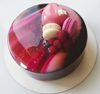 these mirror glaze cakes reflect on the inner sweet tooth. Black Bedroom Furniture Sets. Home Design Ideas