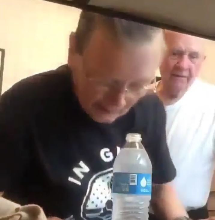 Water Bottle Quarter Prank: Watch This Granny Prank Her Husband With The Old Water