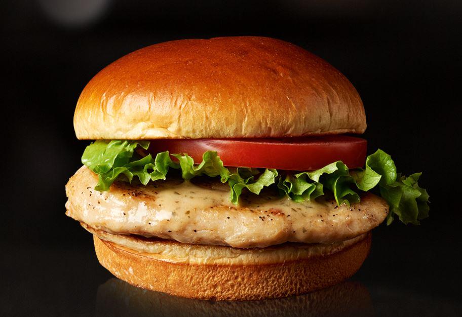 Healthy Fast Food Grilled Chicken Sandwich