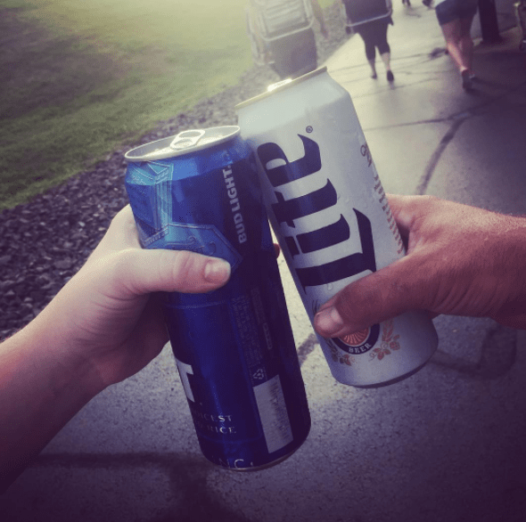 Food Fight Miller Lite Vs Bud Light